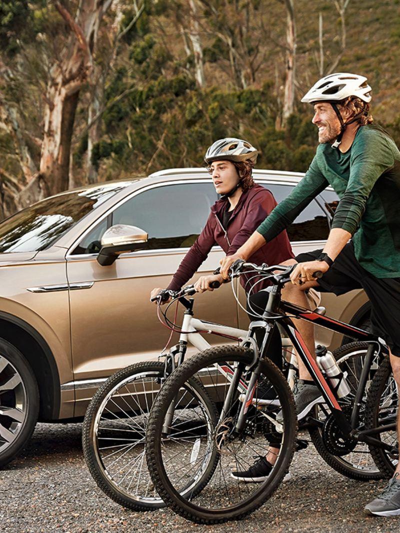 Le Touareg VW vous connecte également en cas d'urgence.