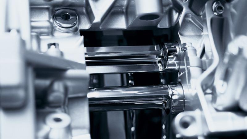 Abbildung des Ausgleichswellengetriebes in einem Volkswagen