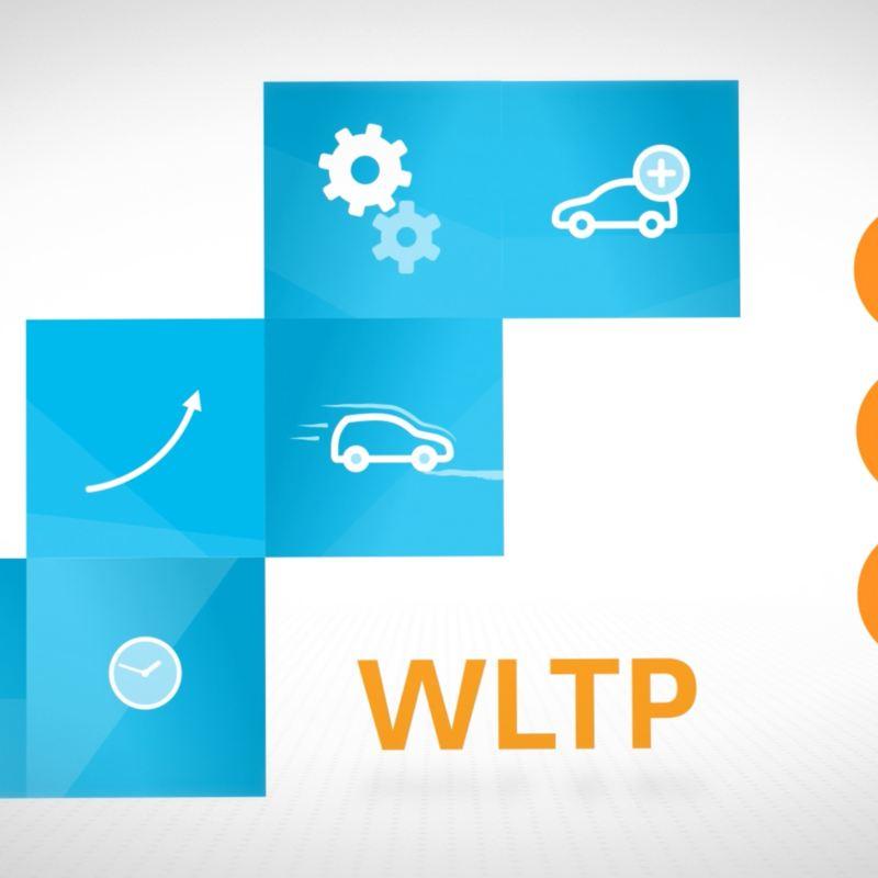 Rappresentazione tramite icone dei parametri del ciclo WLTP.