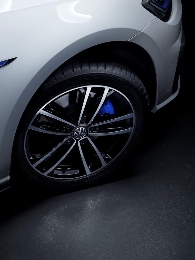 Fälgen på Volkswagen Golf GTE Edition
