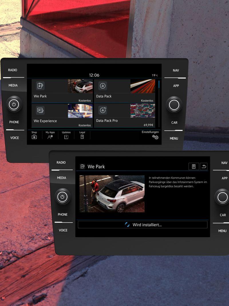Screen In-Car Shop
