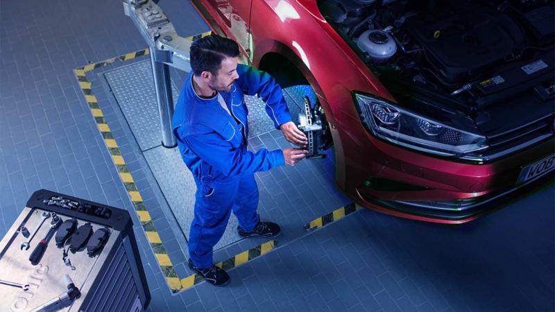 Controllo pneumatici service Volkswagen