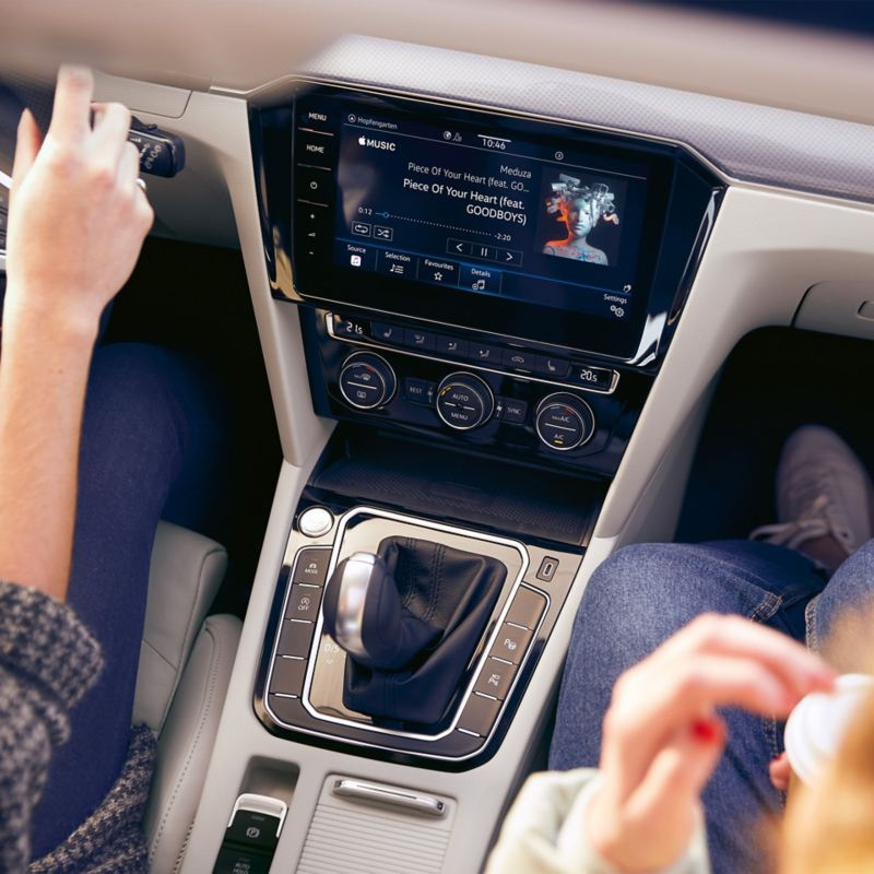 We Connect - Music streaming directly in the infotainment system