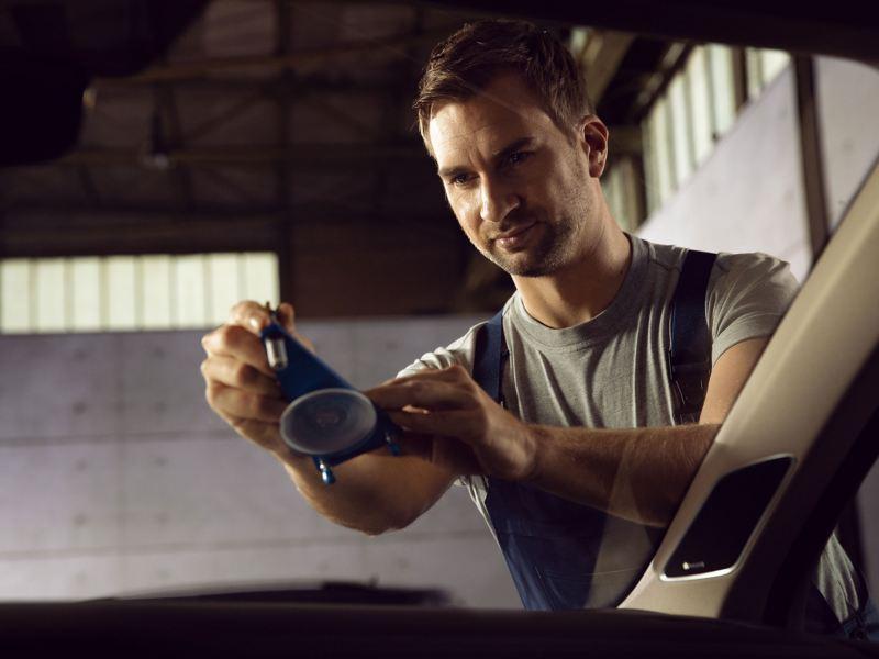 Volkswagen 玻璃維修服務