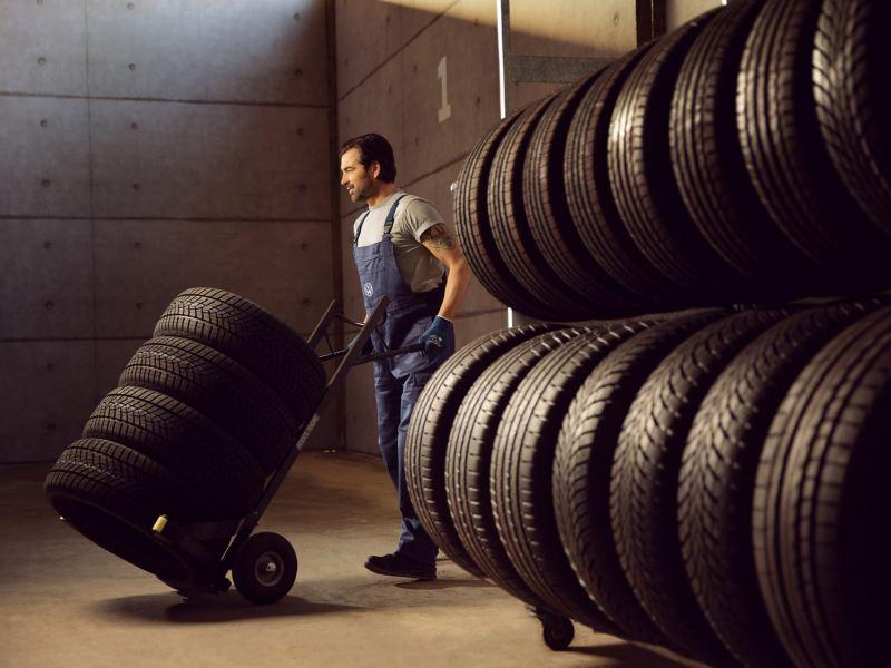 Volkswagen 輪圈與輪胎服務