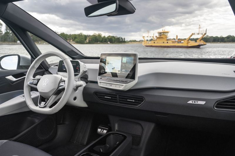 Interiören på VW ID.3