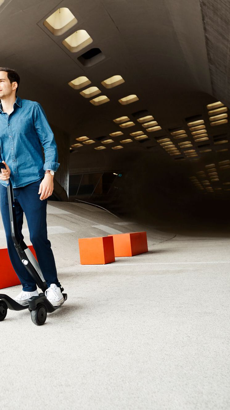 Volkswagen Cityskater in action