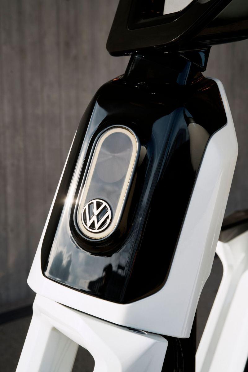 Imagens de pormenores do Volkswagen Streetmate