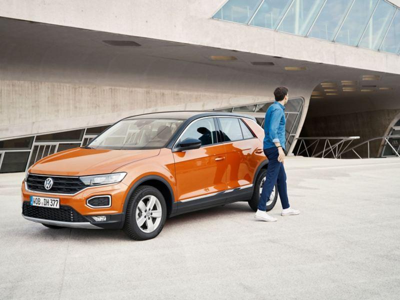 O especialista da Volkswagen em mobilidade elétrica Christopher Möllers