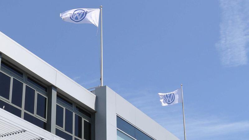 A shot of a Volkswagen retailer