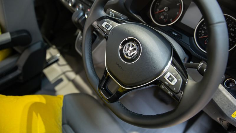 Grand California 680 steering wheel