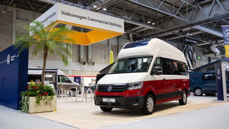 VW Grand California at CCM Show 2019