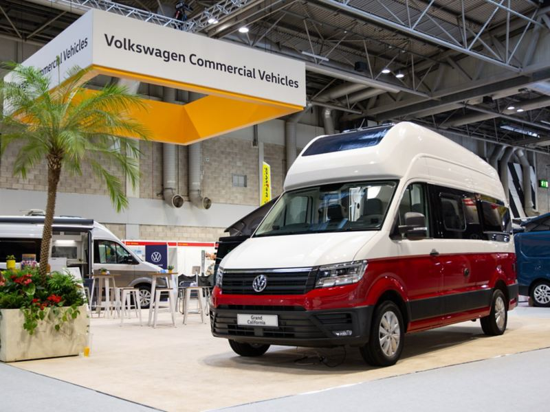 VW Grand California at CCM Show 2019