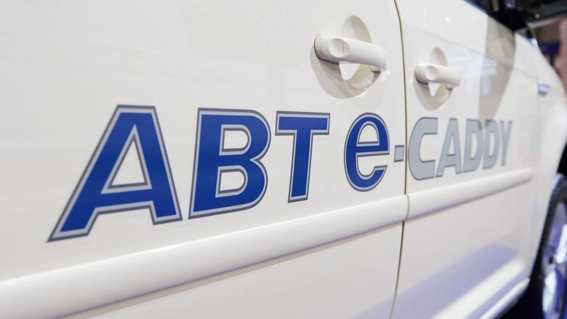 Side view of ABT e-Caddy