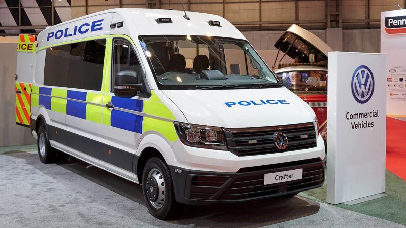 VW Crafter Police van