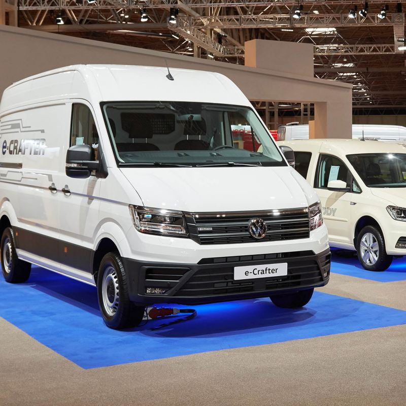 Commercial Vehicle show 2019 - showcasing e Crafter