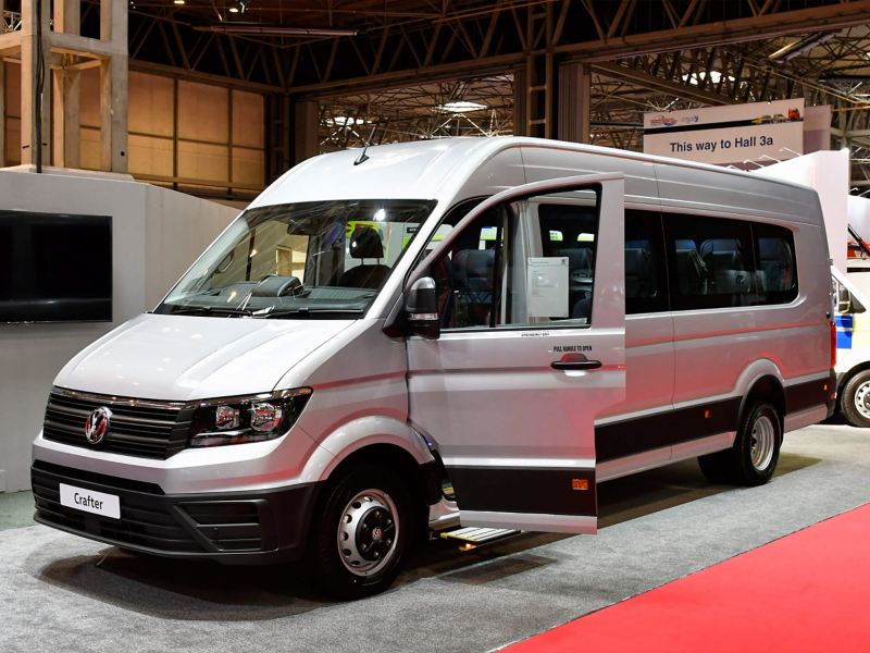 VW Crafter minibus conversion