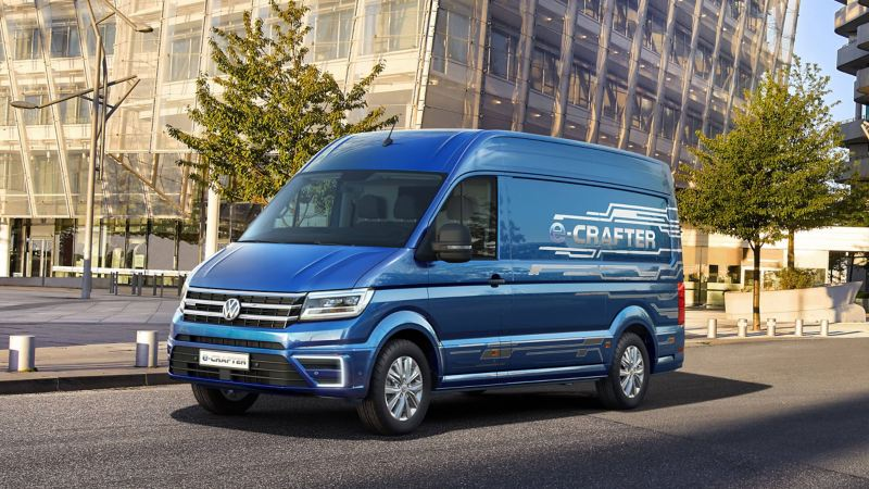e-Crafter concept vehicle