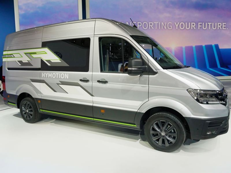 Crafter HyMotion at the IAA show