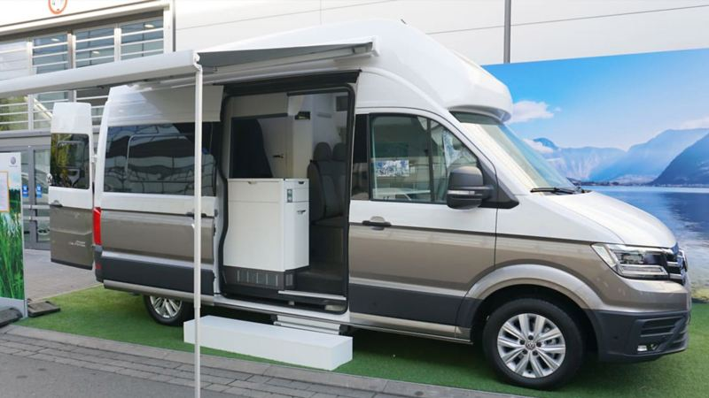 Grand California motorhome prototype on show
