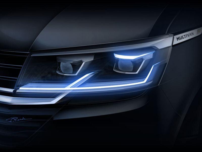 New T6.1 headlight