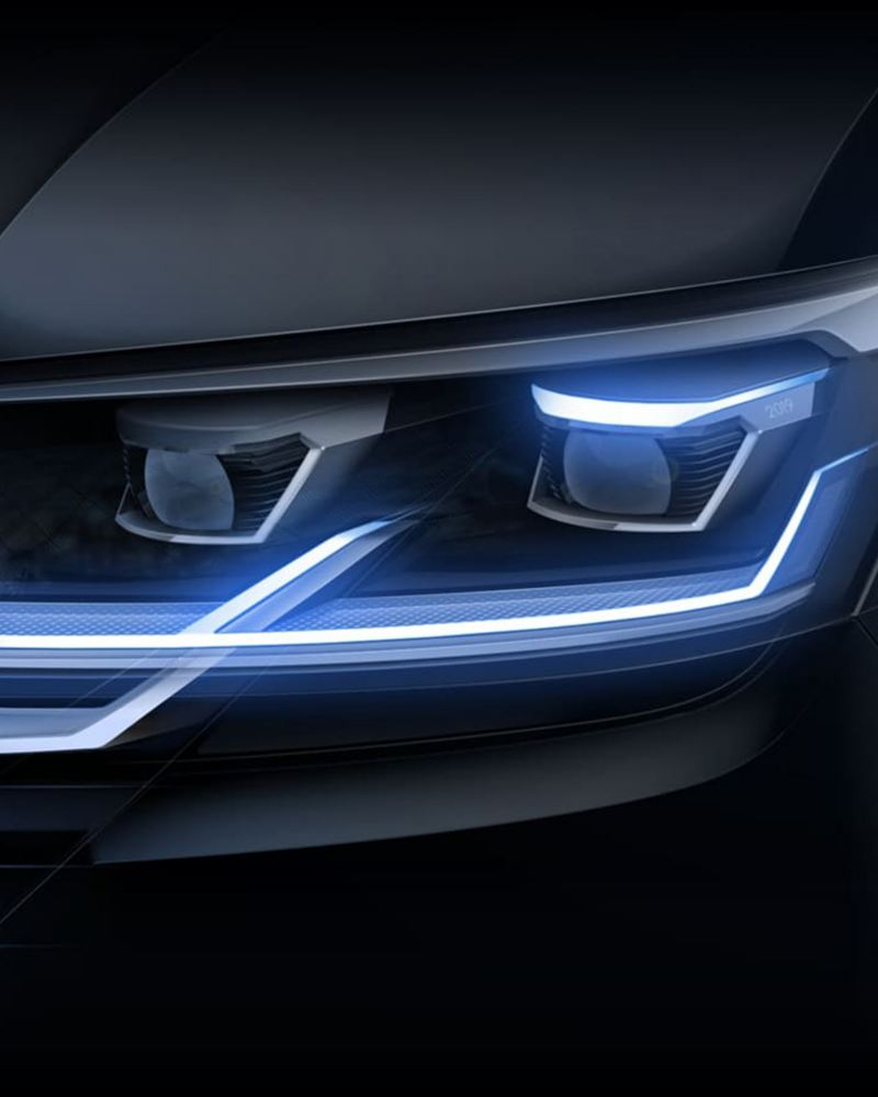 VW Transporter T6.1 van headlight