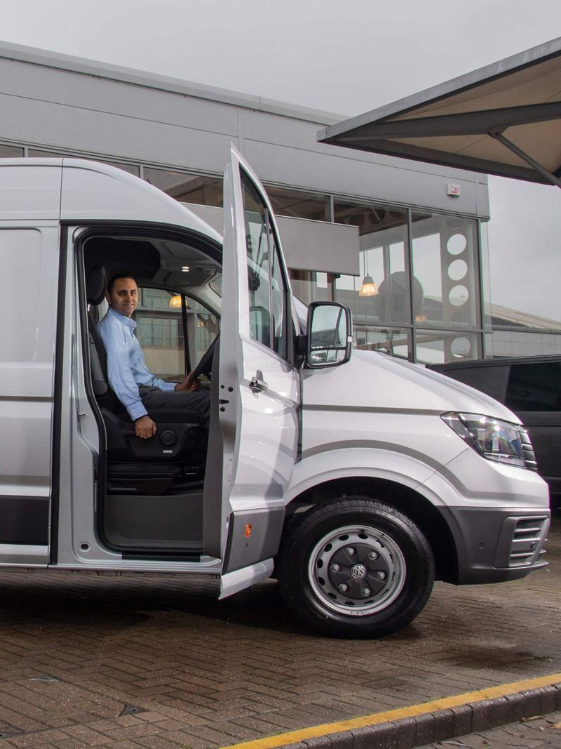 VW ergonomic comfort adjustable van seat