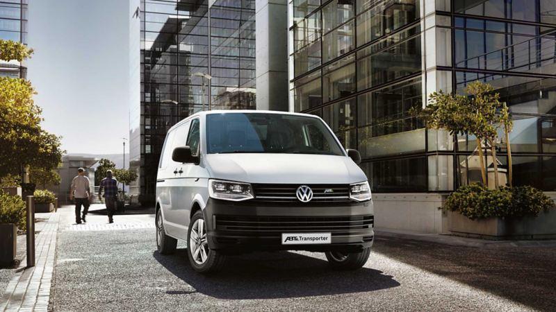 vw Volkswagen ABT e-Transporter elvarebil stor elektrisk el varebil miljøvennlig utslippsfri budbil kassebil 3 seter nullutslipp elbil kontorbygg
