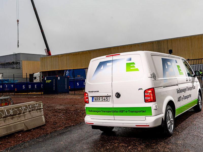 Vy över batterifabriken Northvolt Ett i Skellefteå