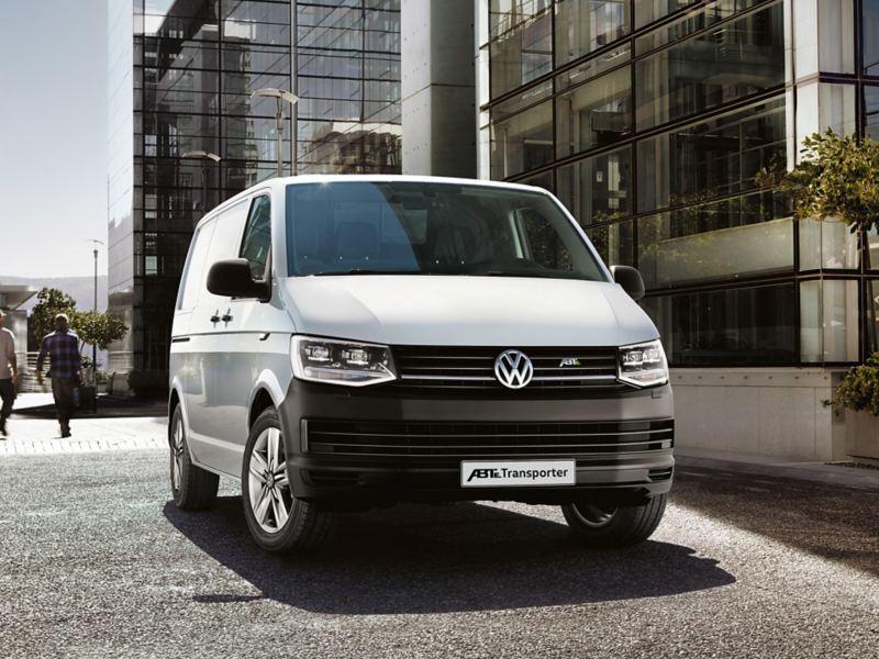 vw Volkswagen ABT e-Transporter elvarebil stor elektrisk el varebil miljøvennlig utslippsfri budbil kassebil 3 seter nullutslipp elbil