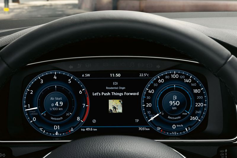 volkswagen active info display