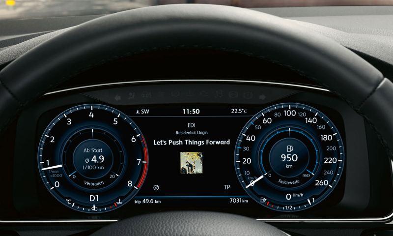 volkswagen active info display