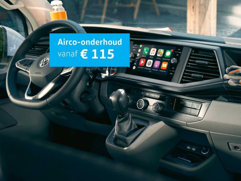 Airco onderhoud vanaf € 115 voor Caddy, Transporter of Crafter