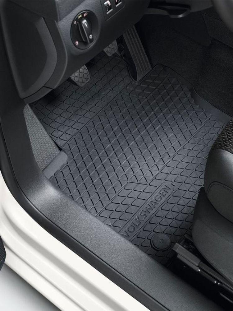 All-weather mat, Rear, titanium black