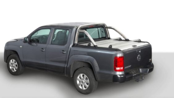 Couvre coffre enroulable Amarok Mountain top Alu sans rollbar