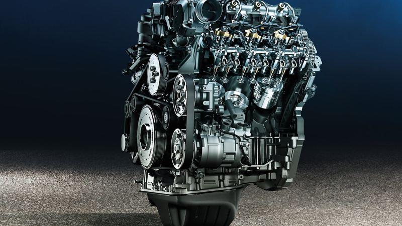 VW Amarok pickup V6-motor