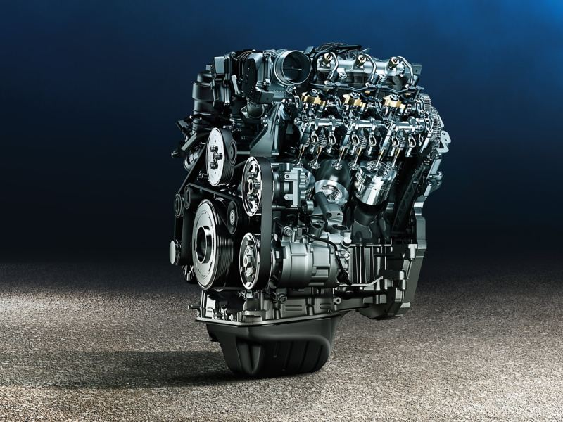 Motor do Volkswagen Amarok Aventura.
