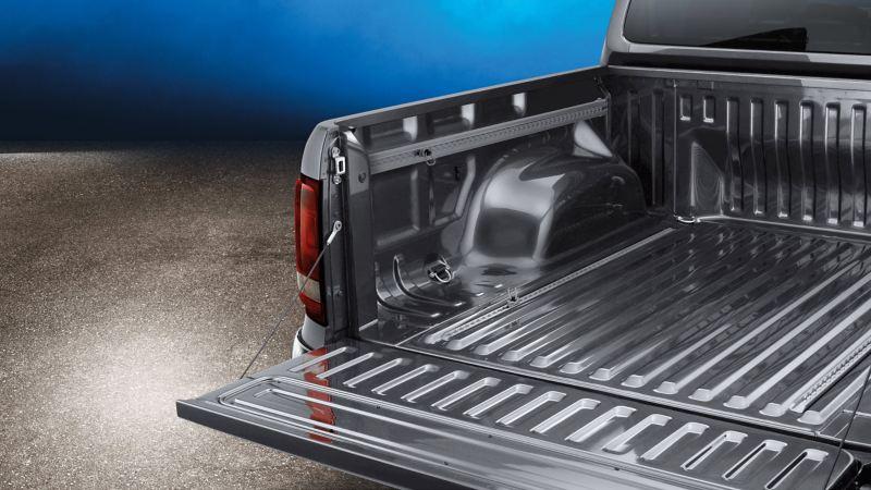 Stort utrymme i VW Amarok pickup
