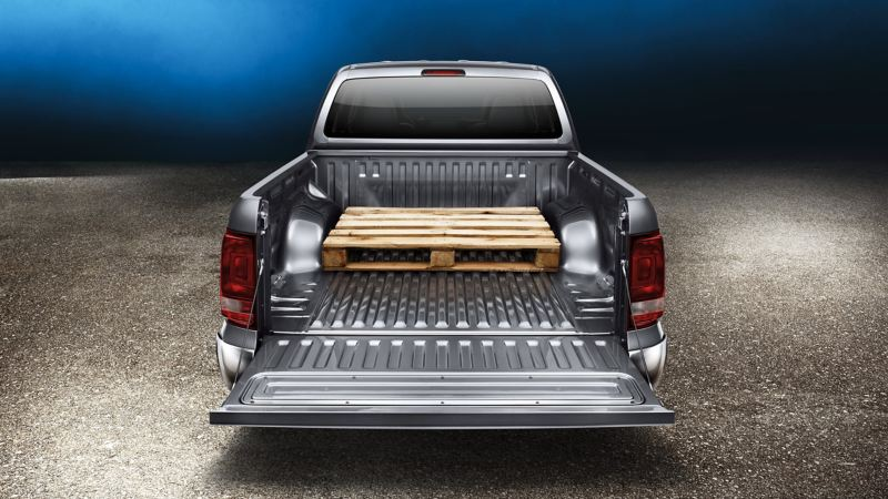 EU-pall får plats i VW Amarok pickup