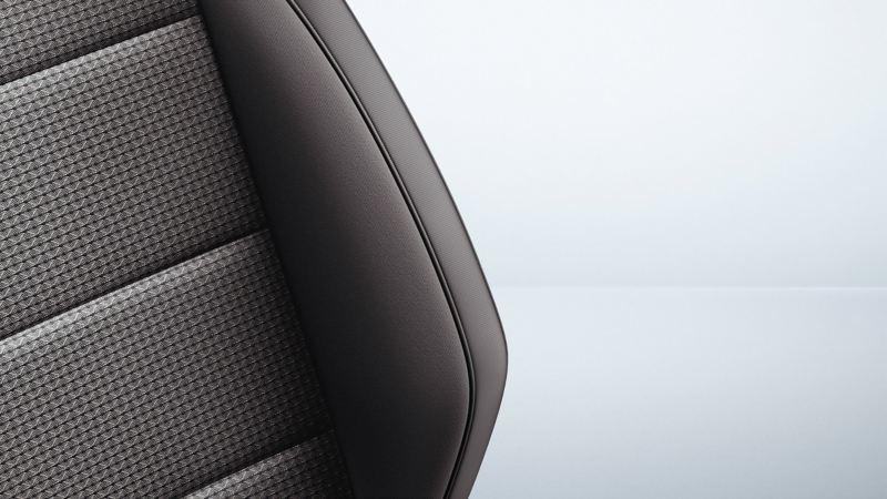 Perforerade lädersäten i VW Amarok pickup