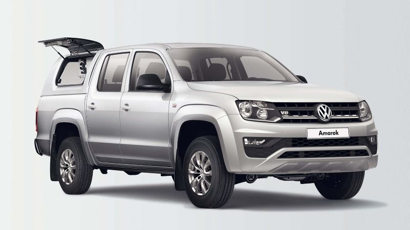 Amarok met heavy duty & sport deluxe hard top