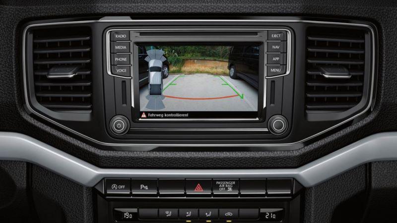 vw volkswagen førerassistentsystem assistentsystem sikkerhetssystem ryggekamera caddy liten 3-seter crafter varebil kassebil
