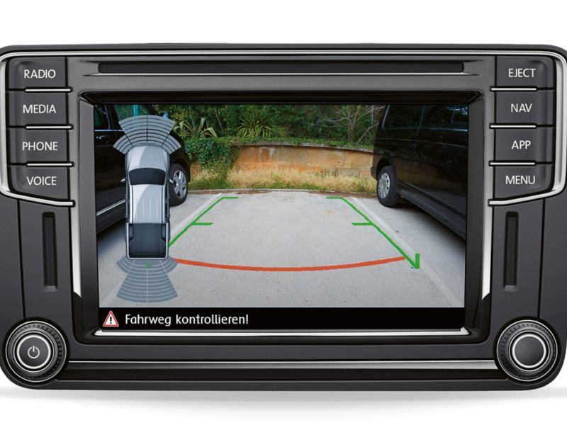 Backkamera i VW Amarok pickup
