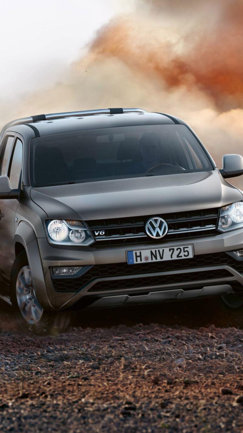 Amarok pickup vw Volkswagen V6 motor 258 hk