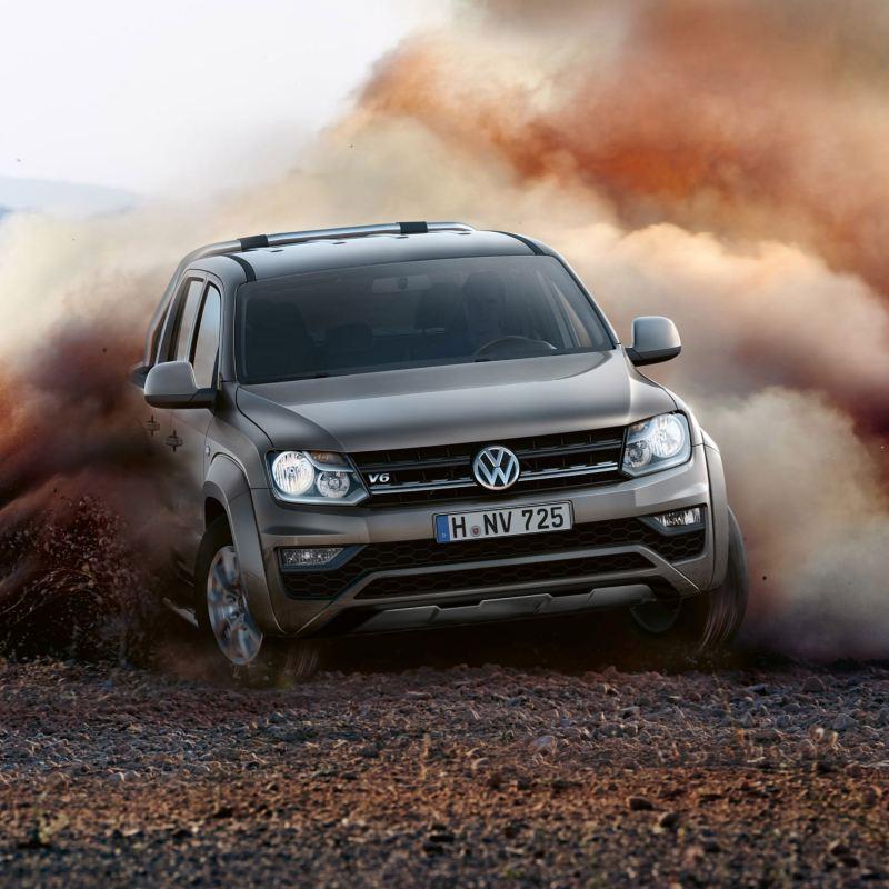 Amarok pickup fra Volkswagen Nyttekjøretøy med ny motor på 258hk