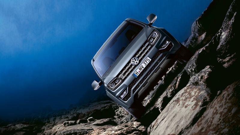vw Volkswagen Amarok Aventura pickup dobbelkabin 4motion firehjulstrekk 4x4 tverrhelling offroadkjøring offroad