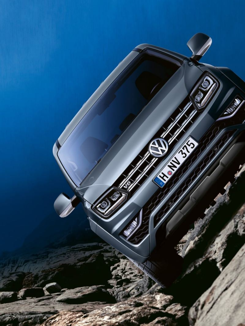 vw Volkswagen Amarok Aventura pickup dobbelkabin 4motion firehjulstrekk 4x4 bi-xenon