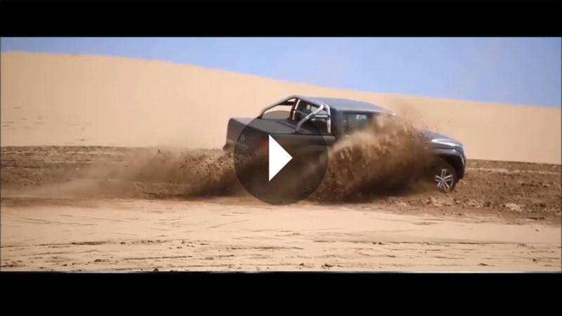 Volkswagen Amarok Offroad Test.