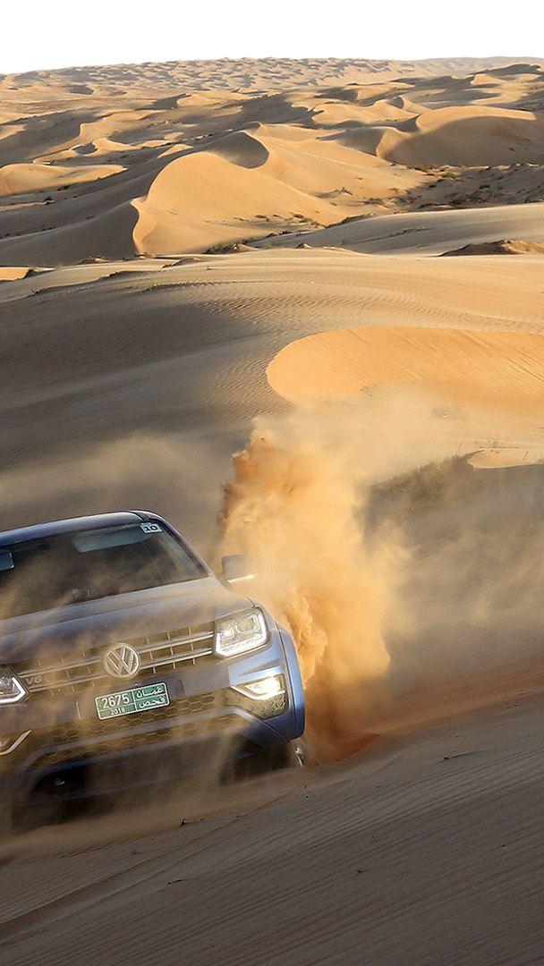 Ökenkörning med nya Volkswagen Amarok