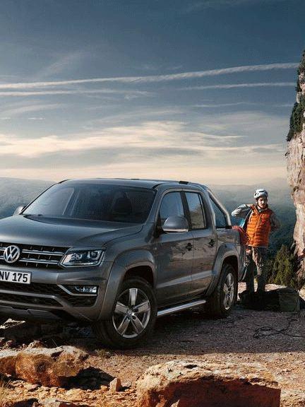 vw Volkswagen Amarok pickup rentetilbud rabatt høstkampanje kampanje fjellklatring offroad buldring via ferrata